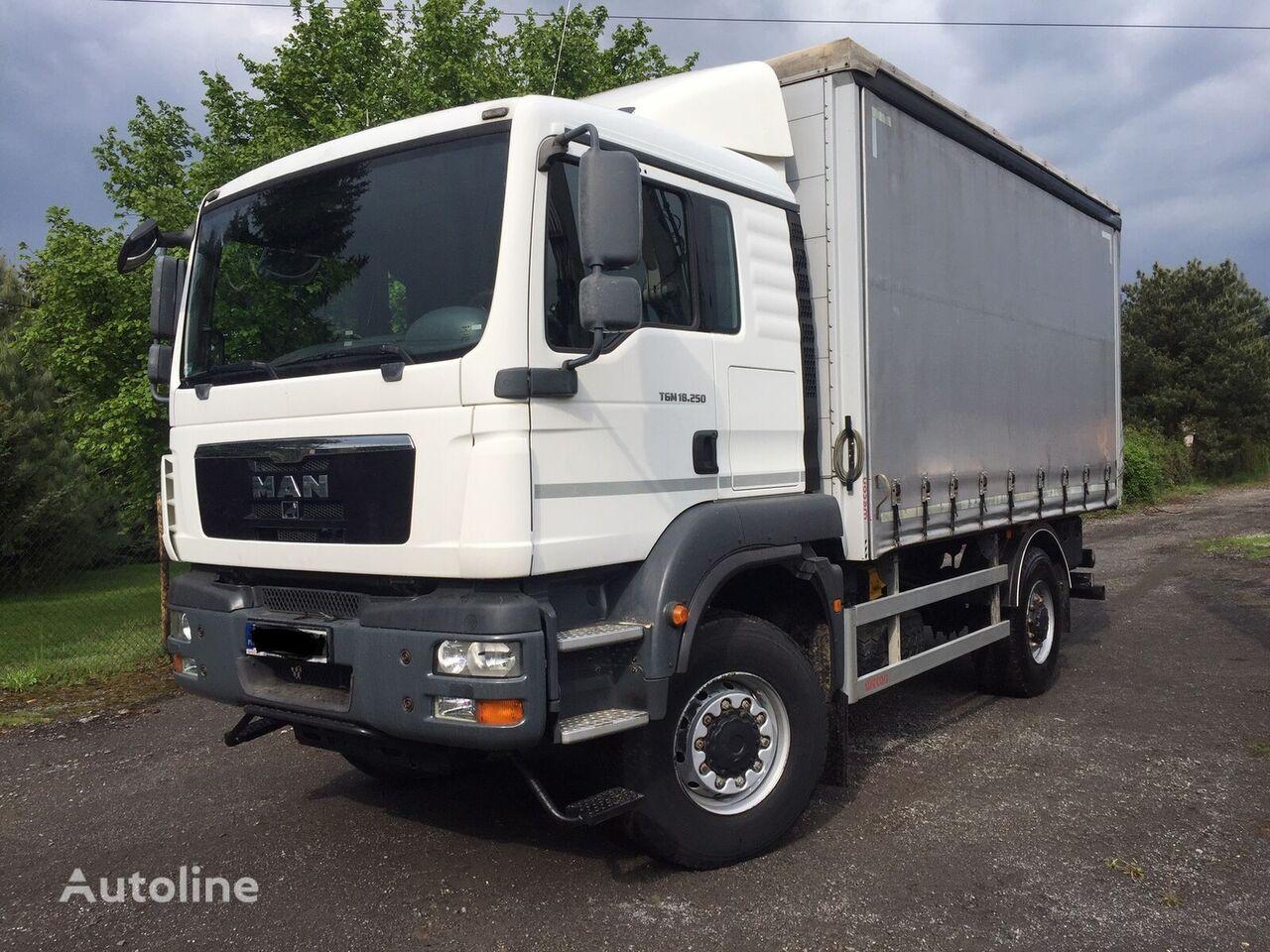 užuolaidinis sunkvežimis MAN TGM 18.250  4X4