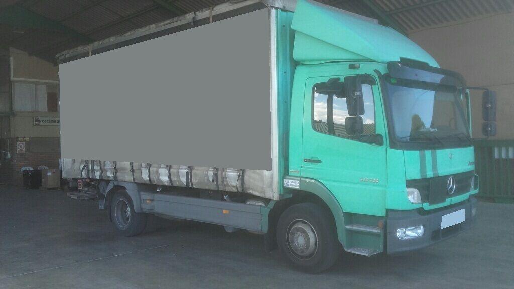 užuolaidinis sunkvežimis MERCEDES-BENZ ATEGO 15.18