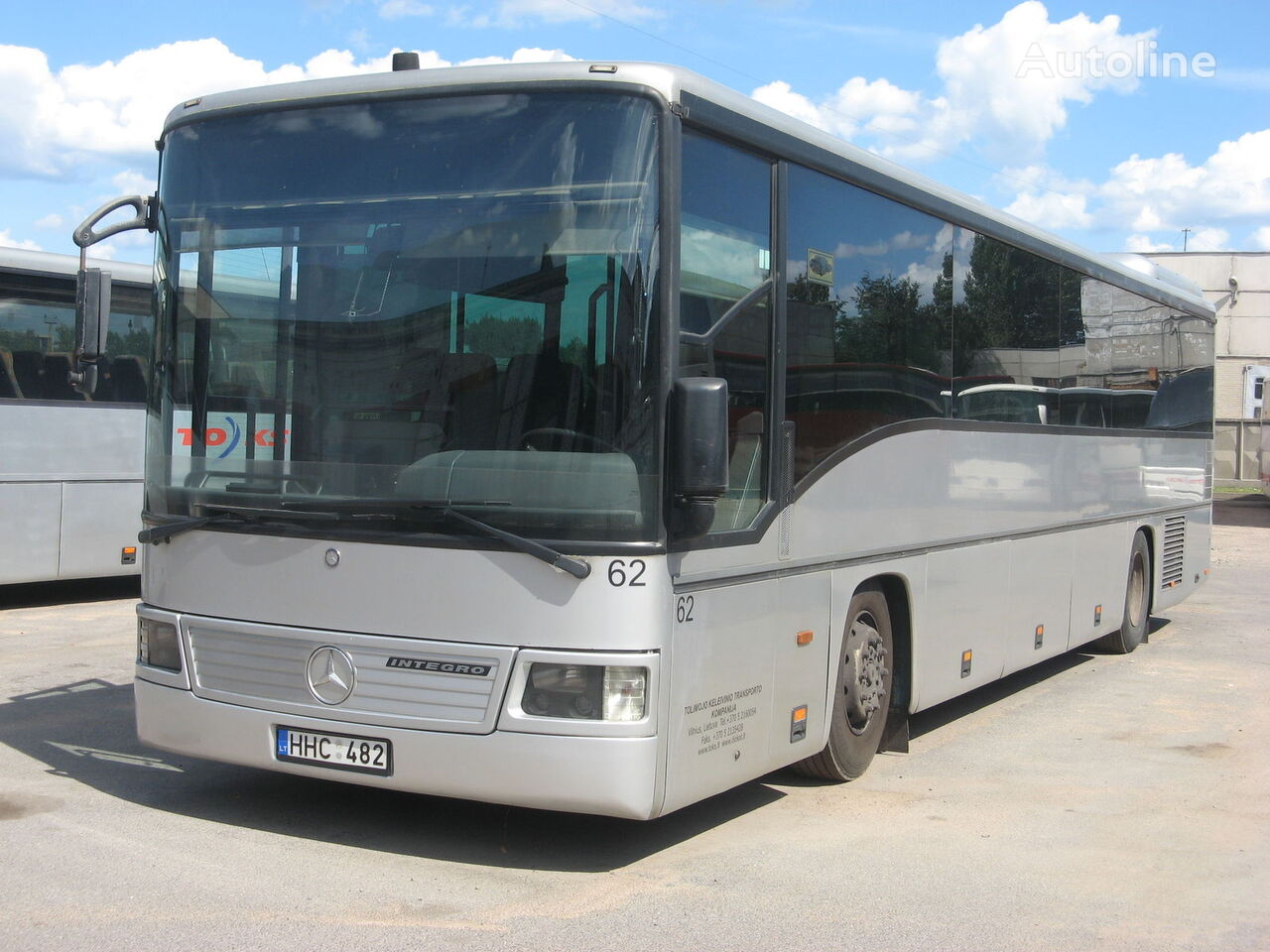 tarpmiestinis - priemiestinis autobusas MERCEDES-BENZ Integro