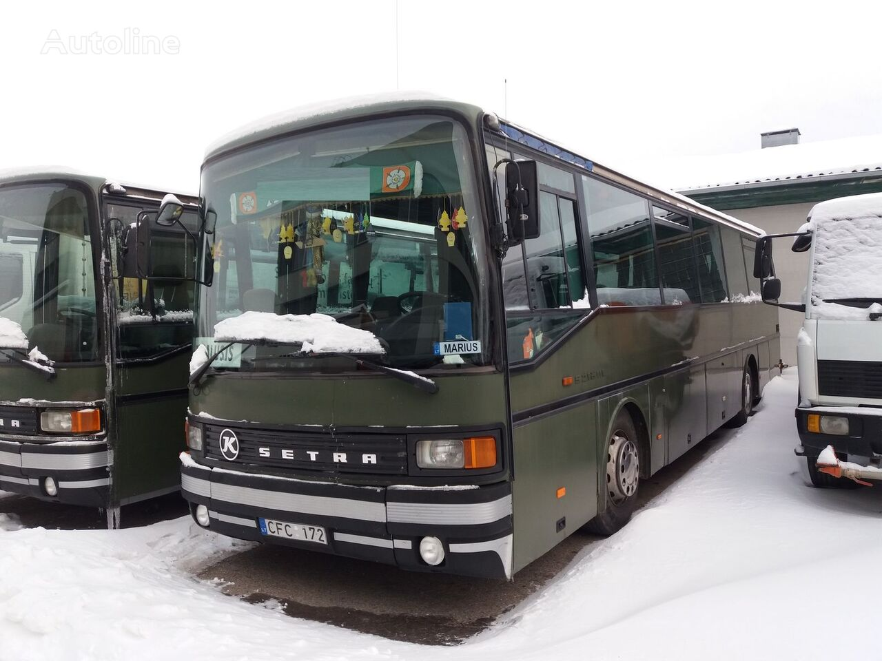 tarpmiestinis - priemiestinis autobusas SETRA S 213 UL