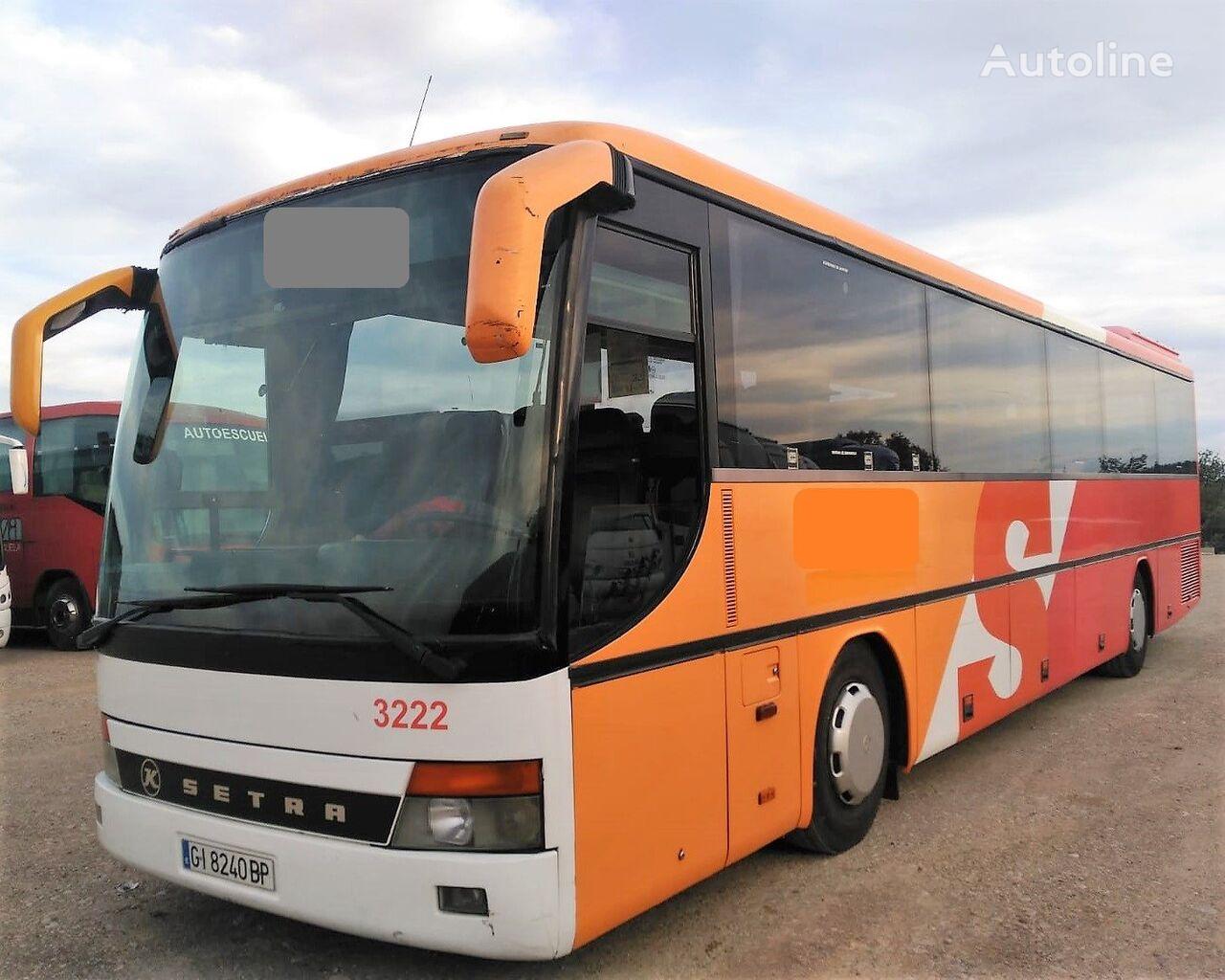 turistinis autobusas SETRA S315 GT  8 CILINDROS MOTOR MERCEDES+8CILI+380CV