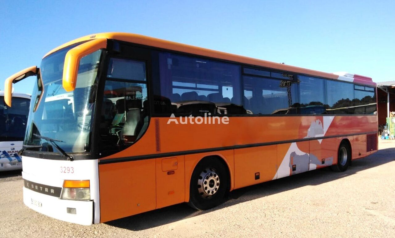 turistinis autobusas SETRA  S315 GT MERCEDES BENZ 8 CILINDROS