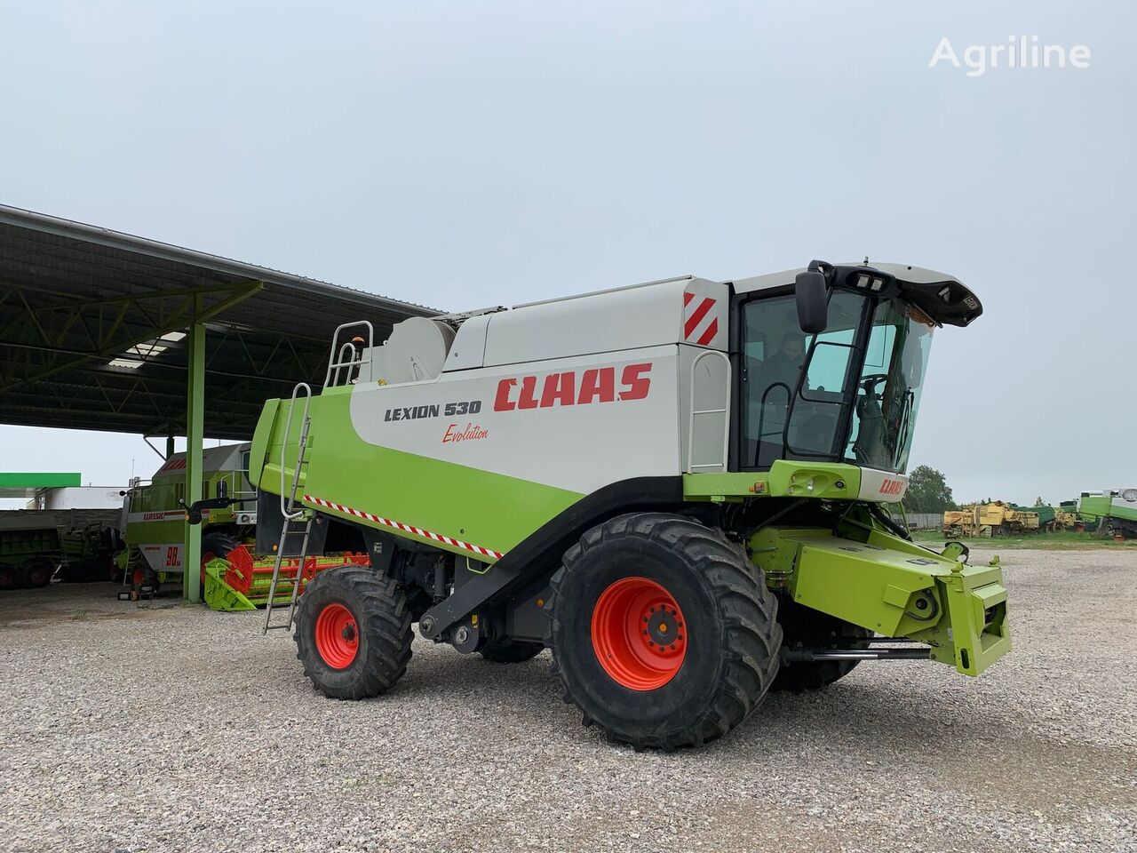 kombainas CLAAS LEXION 530 Evolution