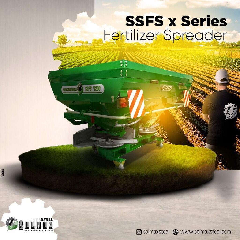 naujas montuojamas trąšų barstytuvas SOLMAX STEEL SSSF x900