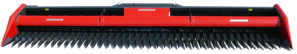 naujas įranga saulėgrąžoms nurinkti Dominoni GF760