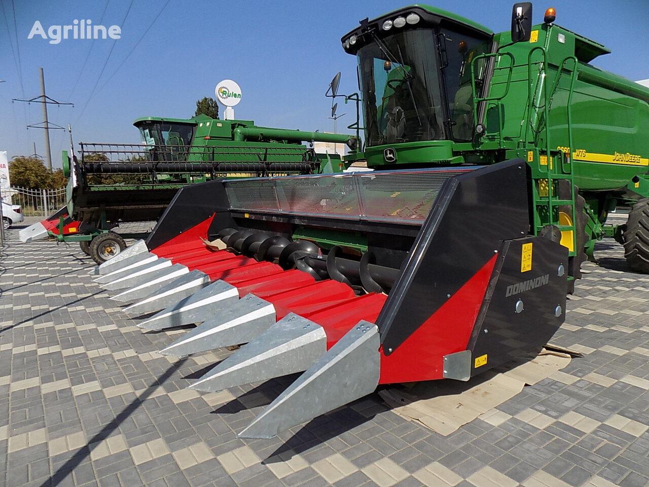 naujas įranga saulėgrąžoms nurinkti Dominoni TOPSUN GT908