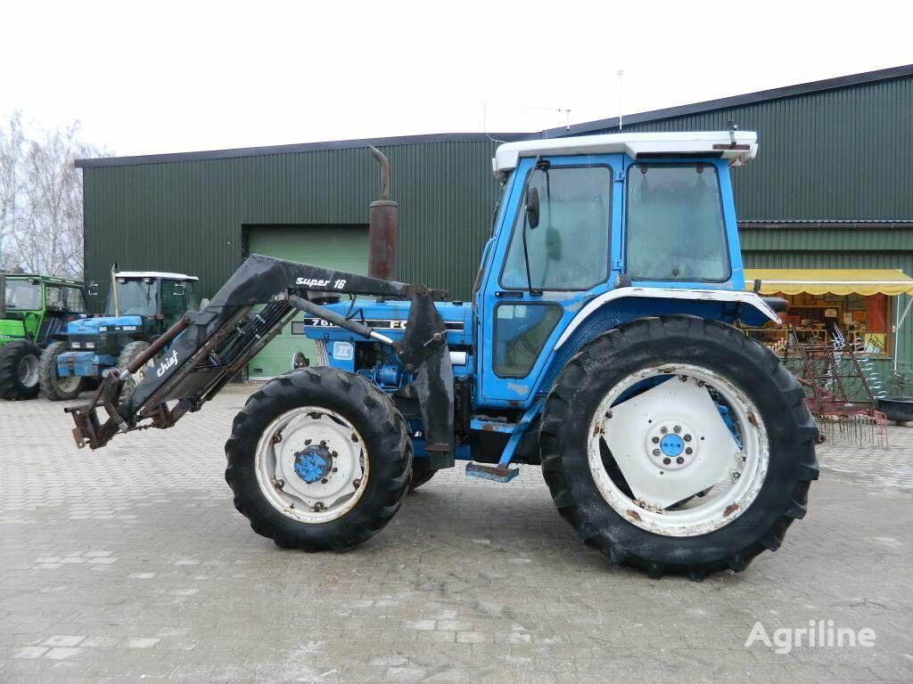 ratinis traktorius FORD 7610