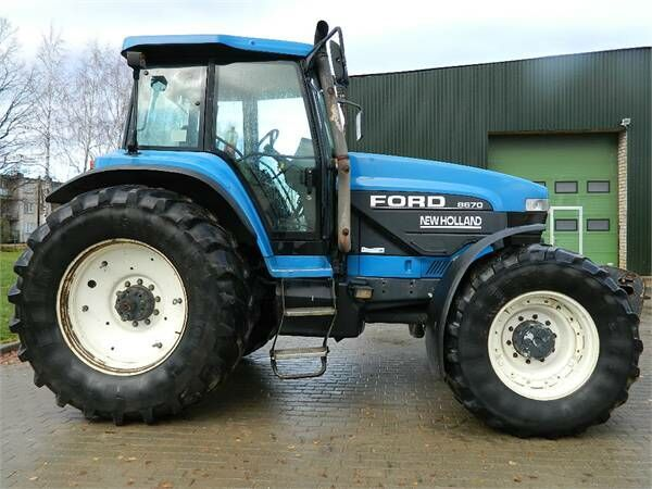 ratinis traktorius FORD 8670