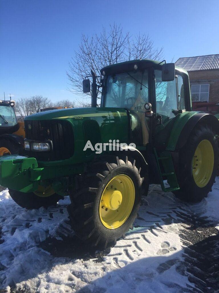 ratinis traktorius JOHN DEERE 6520 Premium
