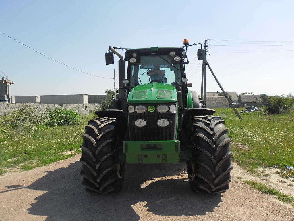 ratinis traktorius JOHN DEERE 7830