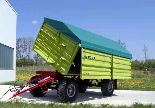 naujas traktoriaus priekaba CONOW HW 180 Zweiseiten-Kipper V 4