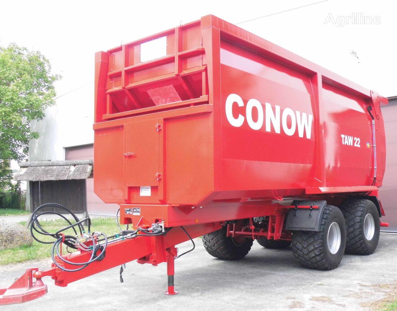 naujas traktoriaus priekaba CONOW TAW 22