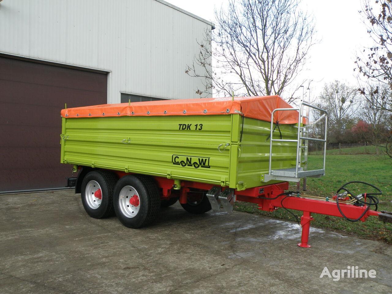 naujas traktoriaus priekaba CONOW TDK 13