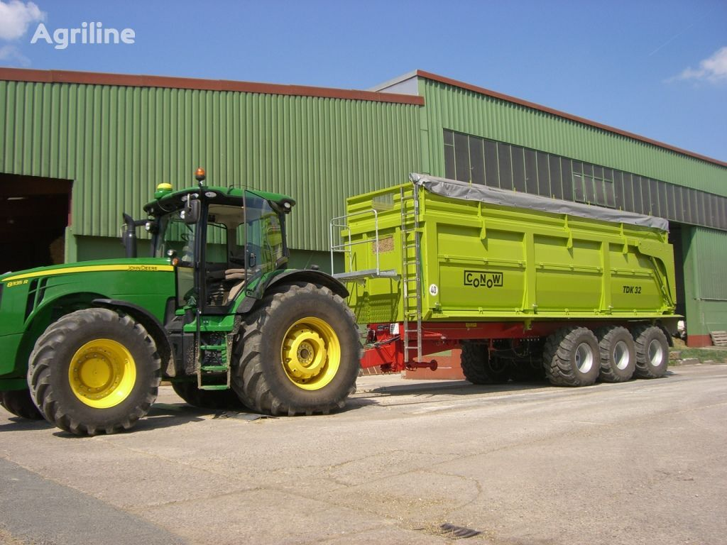 naujas traktoriaus priekaba CONOW TDK 32