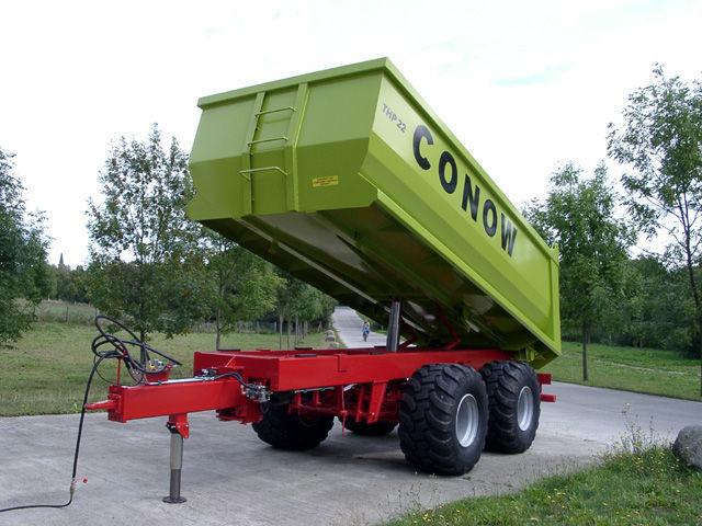 naujas traktoriaus priekaba CONOW THP 22